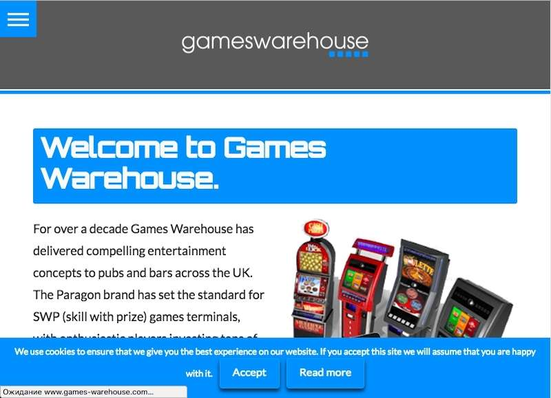 Games Warehouse Main