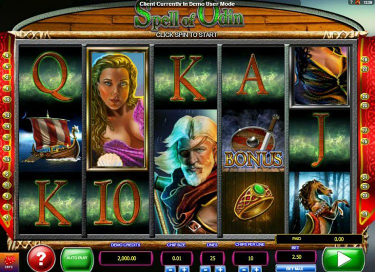 Spell of Odin Slots - Play Online for Free or Real Money