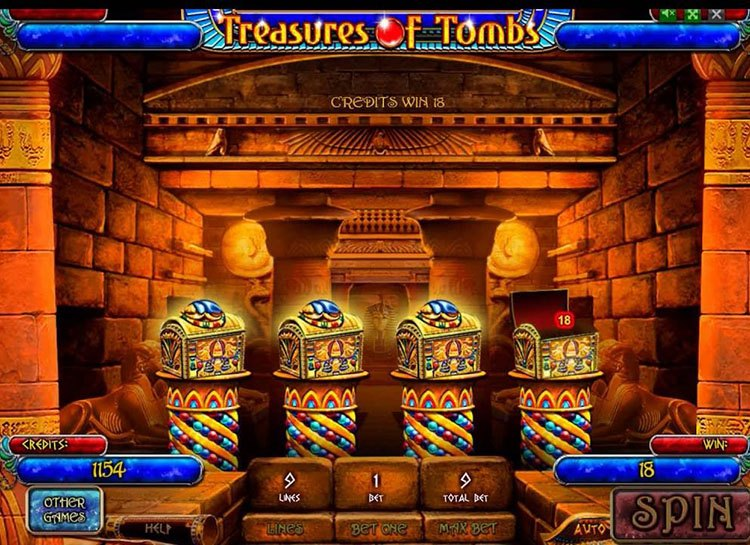 Treasures Of Tombs (Bonus Game)