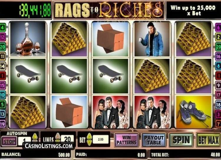 Rags to Riches 5-Reel
